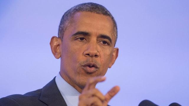 Porträt Barack Obama