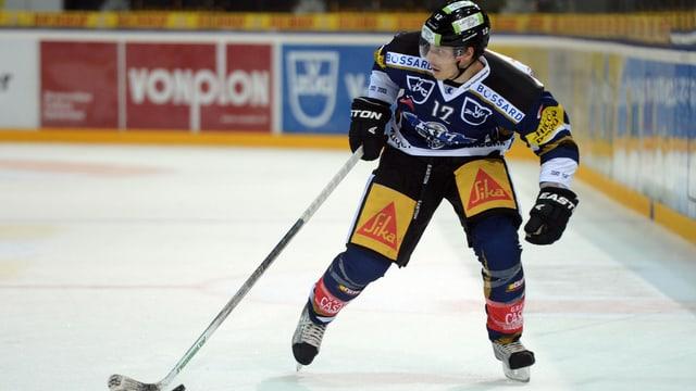 Fabian Sutter darf für den EVZ 2 Spiele nicht auflaufen.