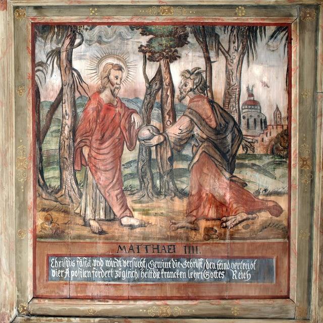 Die evangelische Pfarrkirche von Grumbach (Sachsen) hat eine Renaissancekassettendecke von 1674 mit Szenen aus dem Alten und dem Neuen Testament von dem Freiberger Maler Friedrich Unger nach Radierungen des Virgil Solis des Älteren.