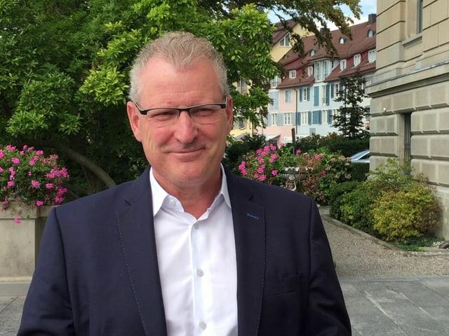 Porträt des Zuger Regierungsrats Heinz Tännler.