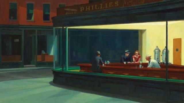 Nighthawks von Edward Hopper