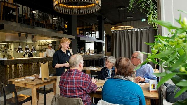 Das Quartierrestaurant mit sozialem Hintergrund: Die «Libelle» im Luzerner Maihofquartier.