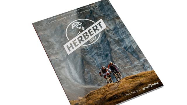 frontispizi da la revista Herbert, la revista per mountain-bikers