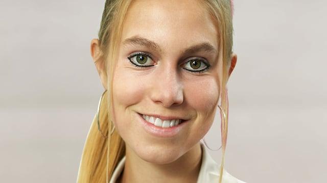 Meret Schneider, Nahaufnahme.