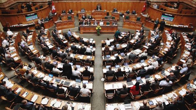 Blick in den Nationalratssaal