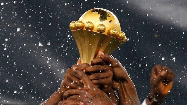 Wo wird die Afrika-Cup-Trophäe 2015 vergeben?