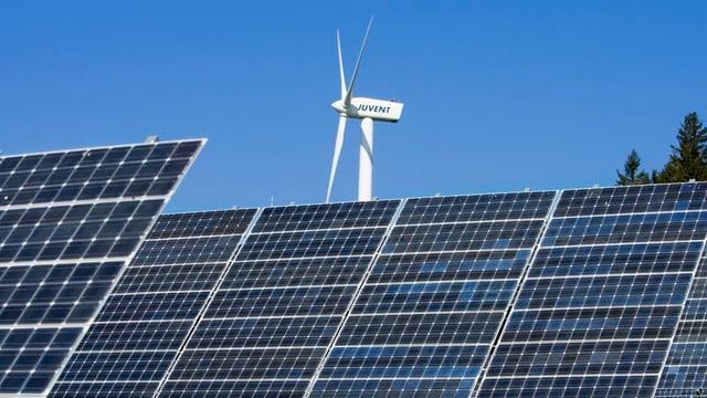 Windenergie und Photovoltaik - Wasserkraft und Biomasse: BKW legt bei alternativen Energiequellen zu.