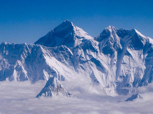 Luftaufnahme vom Mount Everest