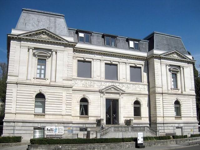 Das Musée Jenisch in Vevey.