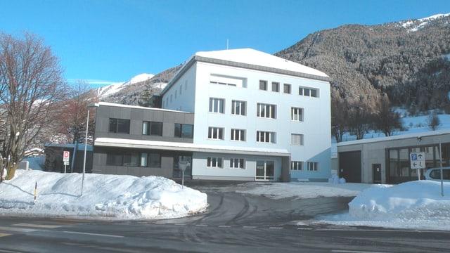 L'ospital regiunal Val Müstair.