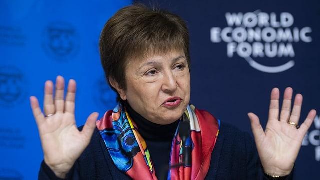 IWF-Direktorin Kristalina Georgiewa.