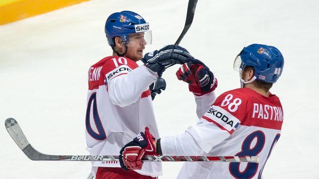 Die Tschechen schlagen Kasachstan und sind für die Runde der letzten 8 qualifiziert.