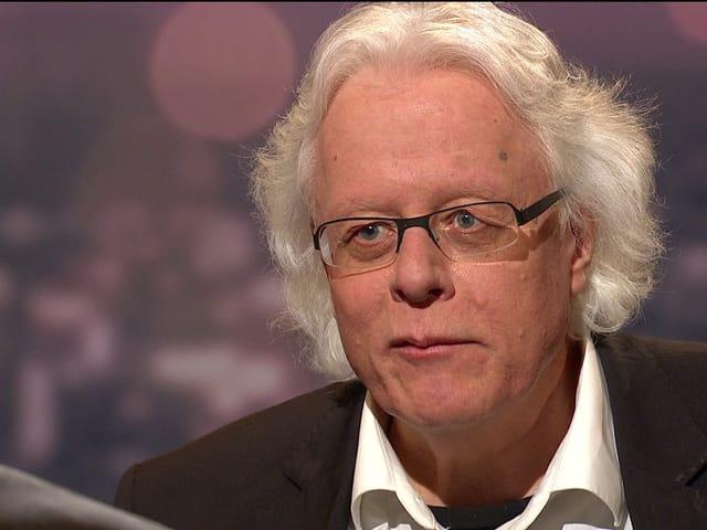 Der Walliser Peter Bodenmann in der sendung «Schawinski». (srf)
