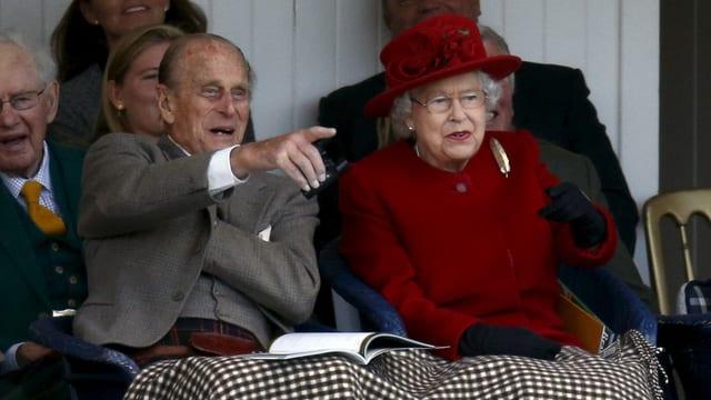 Prinz Philip und die Queen