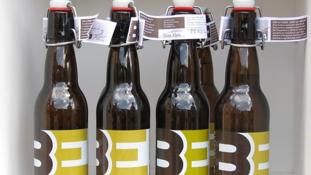 quater butiglias da biera da Tschlin
