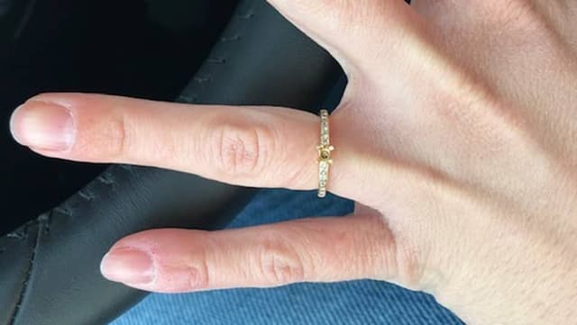 Ring ohne Diamant