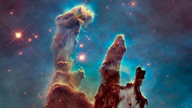 Aufnahme des Hubble-Weltraumteleskops von 2015