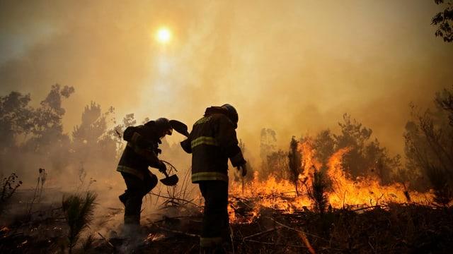 Passa 70 incendis èn anc betg sut controlla.