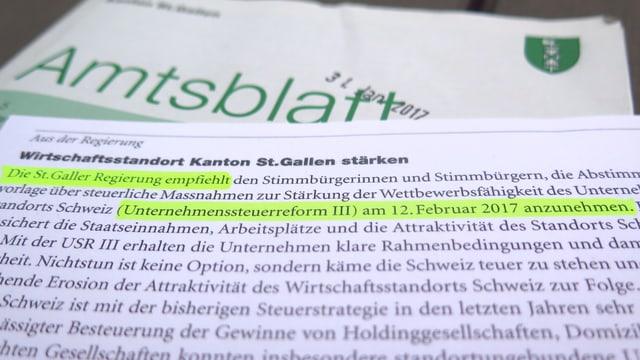 Amtsblatt St.Gallen