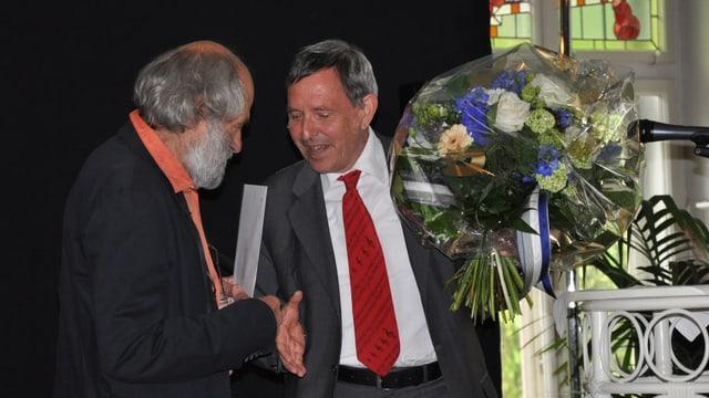 Domenic Janett e Martin Jäger