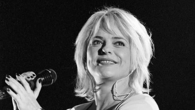 La chantadura France Gall a chaschun d'in concert a Genevra il 1996.