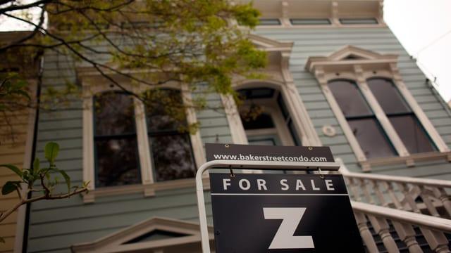 Haus zum Verkauf in den San Francisco (Archivbild)