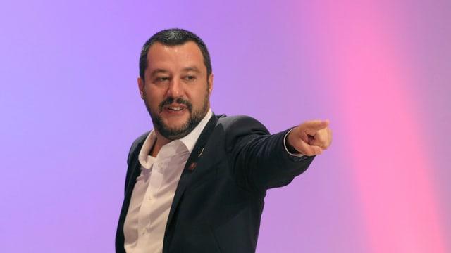 Portrait Salvini.