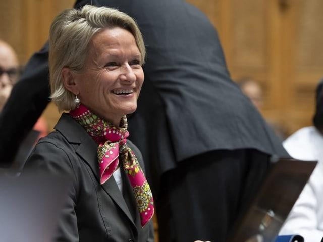 Die Luzerner Nationalrätin Andrea Gmür, CVP.