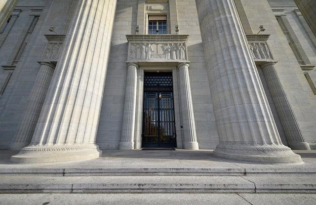 Il Tribunal federal a Losanna.
