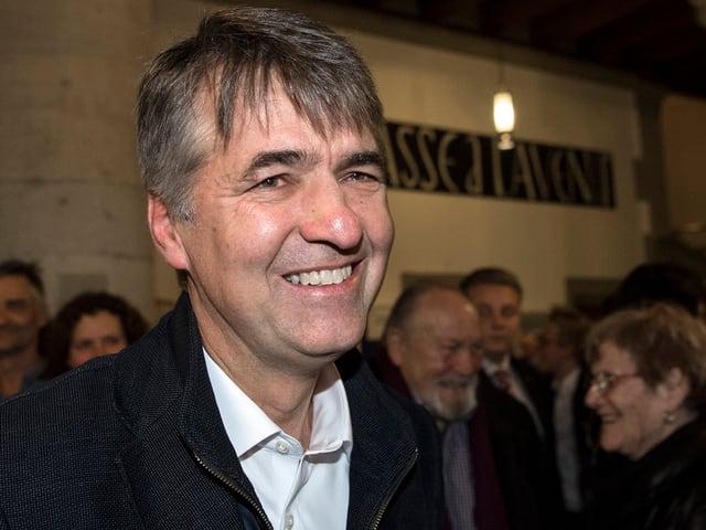 Alec von Graffenried im Rathaus Bern