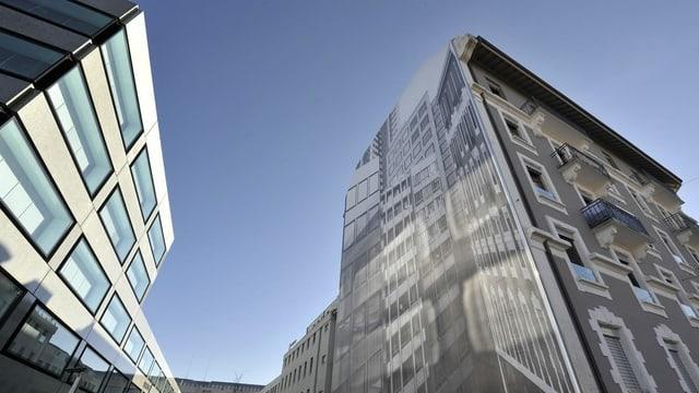 Fassade in Genf: Bezahlbarer Wohnraum ist schwierig zu finden.