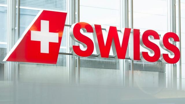 Purtret dal logo da la Swiss.