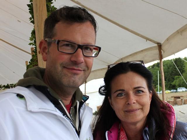 Marc Wälti und Martina Schelker