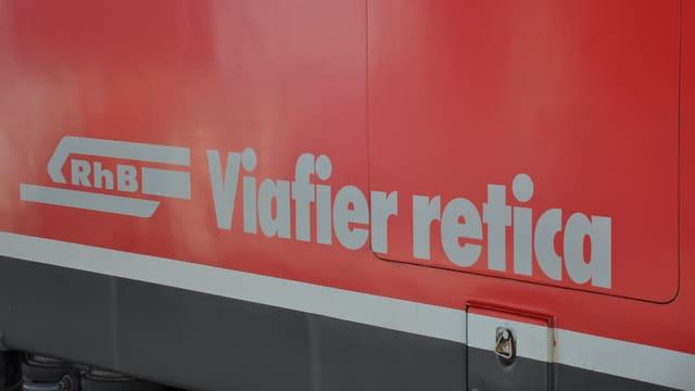 Logo da la Viafier retica.