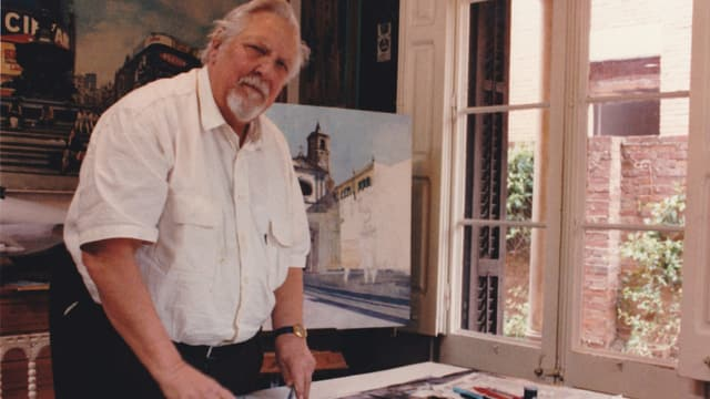 Video «Rudolf Häsler – ein Interlakner Maler in der Welt» abspielen