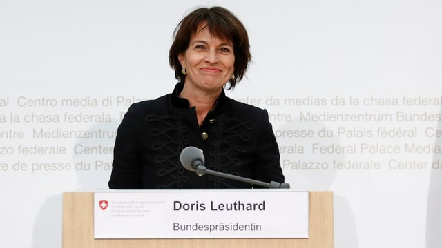 Doris Leuthard.