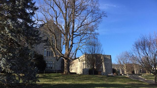 Der Campus der Universität Blacksburg