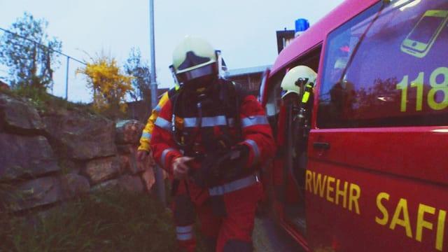 Video «Die Feuerwehr Safiental ist jetzt bereit» abspielen