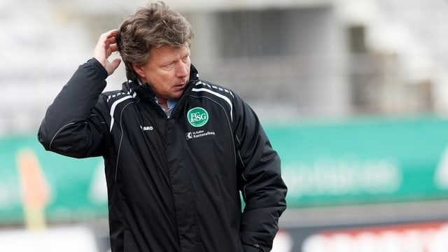 FC St. Gallen Trainer Jeff Saibene