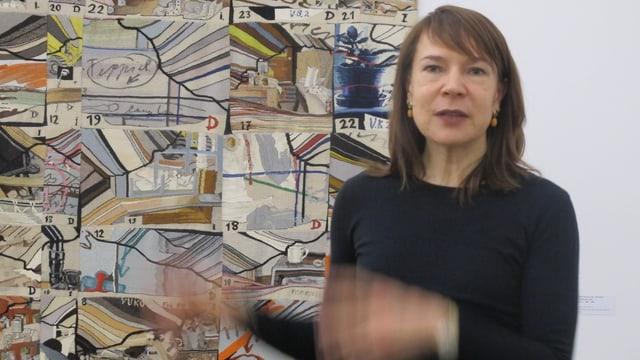 Madeleine Schuppli, Direktorin des Kunsthauses.
