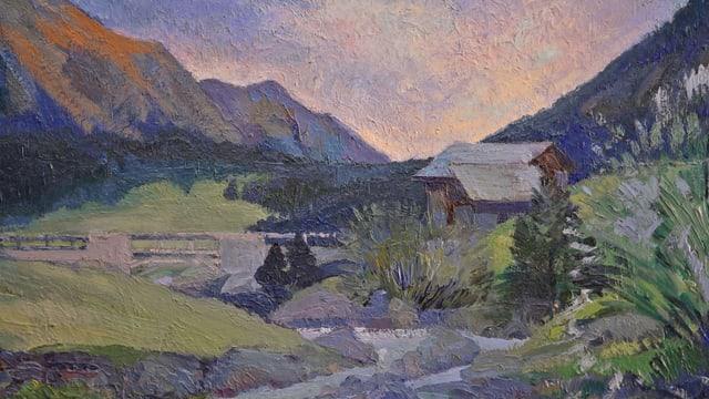 Cuntrada dissegnada dad Edgar Vital – 1883 – 1970.