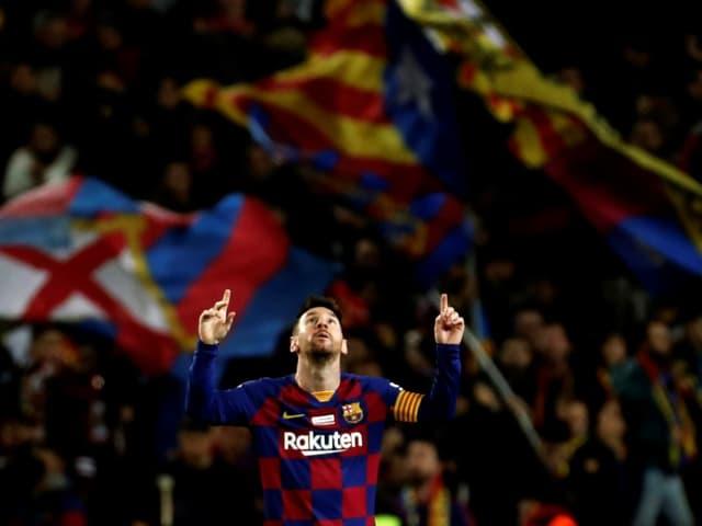 Auf Trainings mit der Mannschaft muss auch Barcelonas Lionel Messi weiter warten.