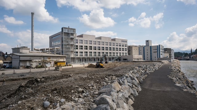 In der Viscosistadt in Emmen werden 350 Studierende der Abteilung Design und Kunst eine neue Heimat finden.