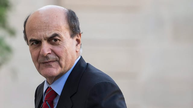 Pier Luigi Bersani will die Macht in Rom.