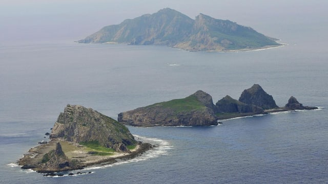 Die Inseln im Ostchinesichen Meer