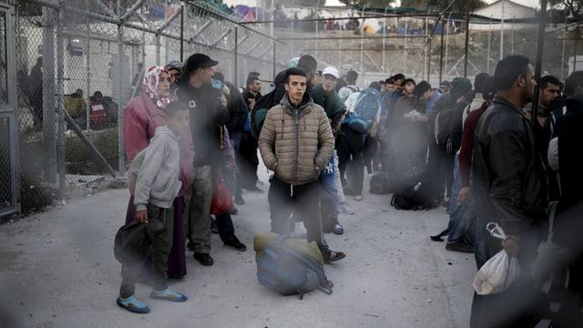 Reportage aus Lesbos