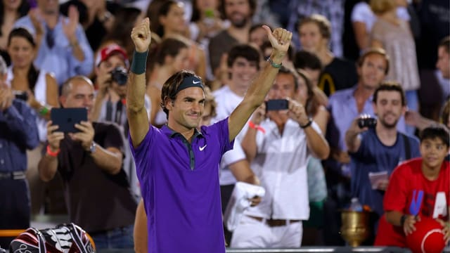Roger Federer wurde in Argentinien gefeiert.
