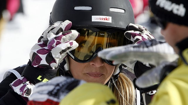 Skicrosserin Sanna Lüdi.