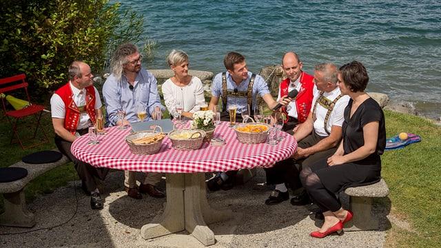 Video «Potzmusig Sommerplausch: «Appenzell»» abspielen