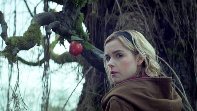 Kiernan Shipka (bekannt aus der serie «Mad Men») spielt die neue Sabrina.